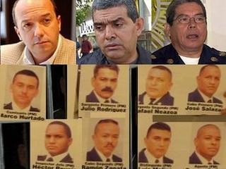 Lázaro Forero, Vivas, Simonovis y los policías condenados