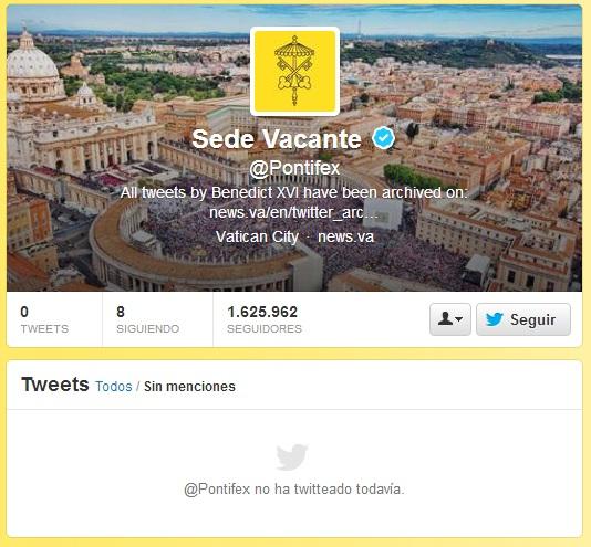 pontifex sede vacante
