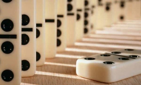 domino juego trancado