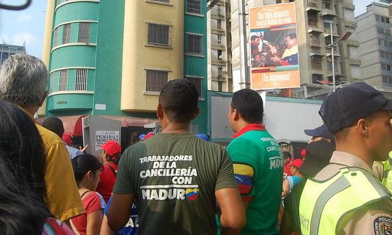 Cancilleria con Maduro