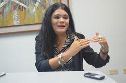 Natalia Sánchez, investigadora del Centro de Estudios Sociológicos de la FCES de LUZ. Foto Carlos Churio.