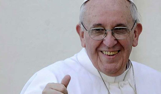 papa francisco pulgar
