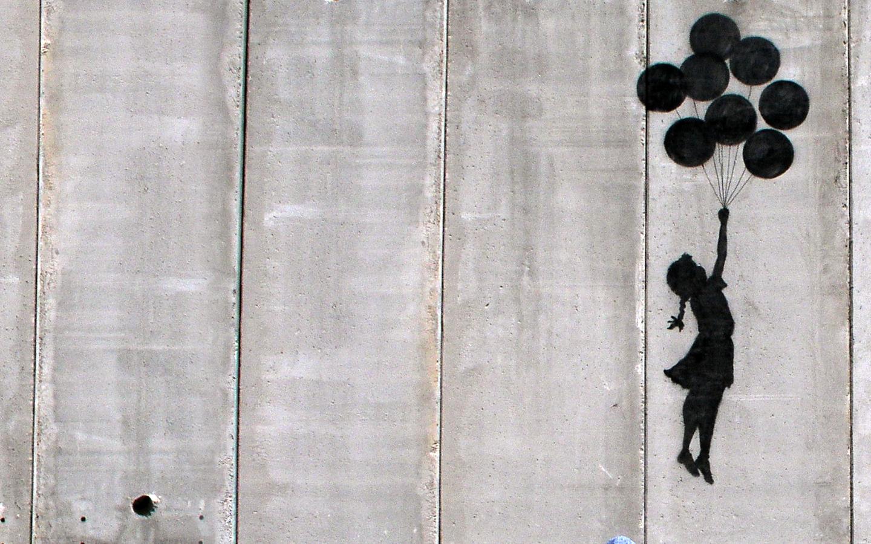 Balloon Girl, por Banksy