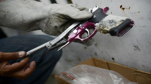 pistolas venezuela