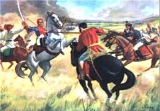 Image result for la pintura en el siglo 19 en venezuela la la batalla de urica
