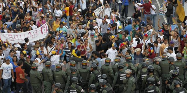 protesta militares