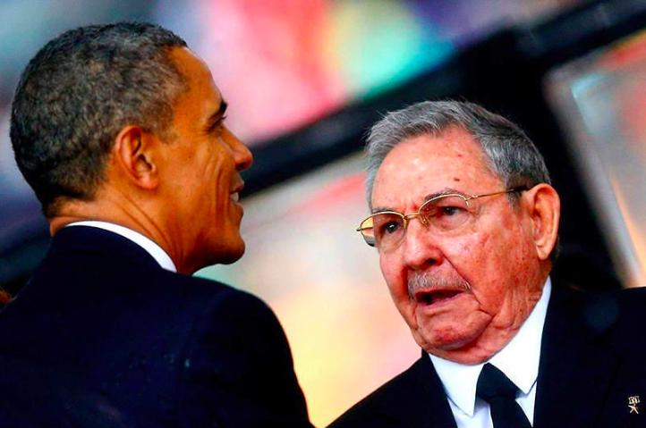 Raúl Castro - Obama
