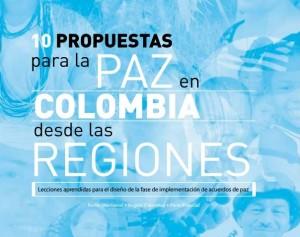 propuestas para la paz