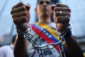 portestas y manifestaciones por los derechos humanos en venezuela