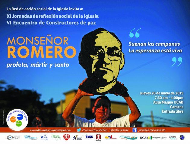 Acompáñanos el 28 de mayo en Constructores de paz