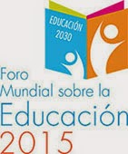 Logo foro mundial sobre la educacion