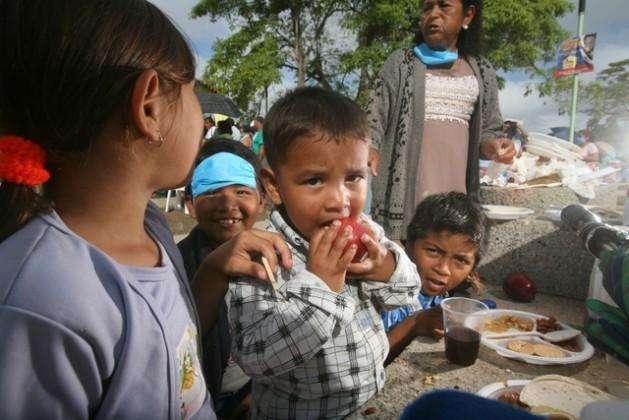 reduccion del hambre en américa