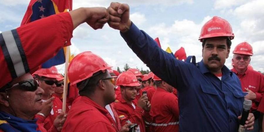 Maduro y PDVSA