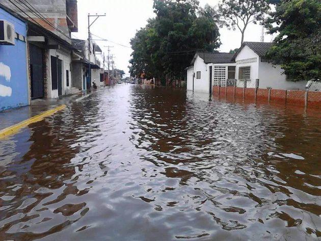 innundación de Guasdualito