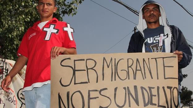 Ser migrante no es delito