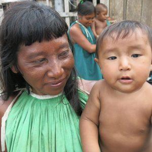 Mujer warao en La Mora (Delta Amacuro)_Carlos Murga