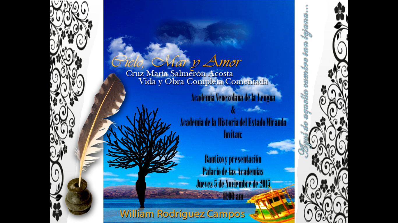 Cielo, mar y amor - Cruz María Salmeron Acosta