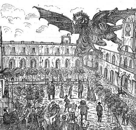Ilustración de El diablo en Buenos Aires (ver nota final)*