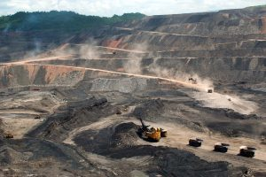 Mine operations at the Paso Diablo coal mine in Venezuela. Mandatory Credit: Vismedia +44 (0) 20 7436 9595