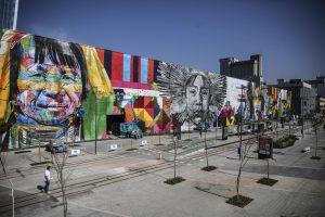 Gigantesco mural simbolizará unión de etnias de cinco continentes en Río 2016