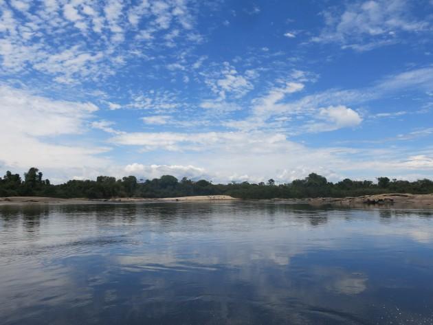 En sus 5 millones de hectáreas, la cuenca del Caura alberga cinco áreas bajo régimen de administración especial. Foto: Minerva Vitti