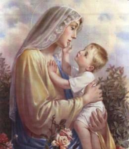 MARIA Y NIÑO JESUS