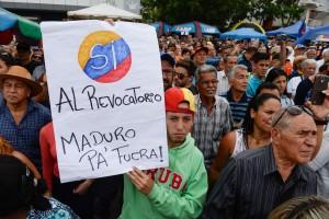 VENEZUELA-REFERENDUM-OPPOSITION