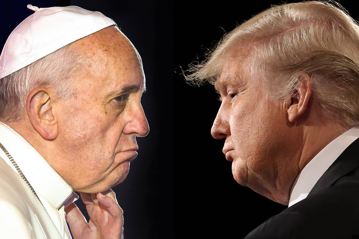 web-pope-francis-trump-comp-face-close-up-gabriel-bouys-afp-and-joe-raedle-afp