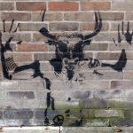 Minotauro, Grafitti